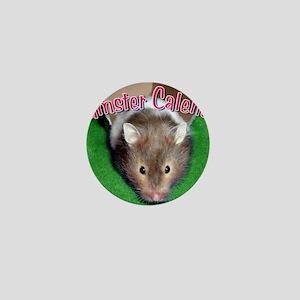 Hamster Wall Calendar Mini Button