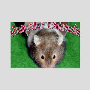 Hamster Wall Calendar Rectangle Magnet