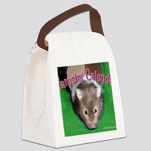 Hamster Wall Calendar Canvas Lunch Bag