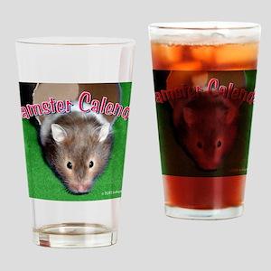 Hamster Wall Calendar Drinking Glass