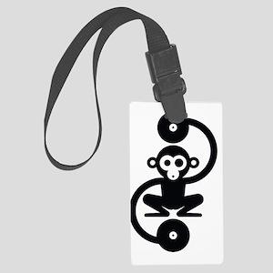 Monkey Music Large Luggage Tag
