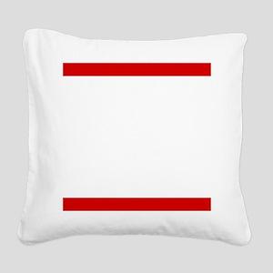 Ride BMC Square Canvas Pillow