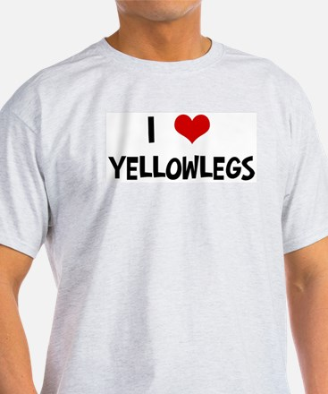 I Love Yellowlegs T-Shirt