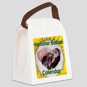 Hamster Babies Wall Calendar Canvas Lunch Bag