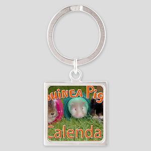 Guinea Pigs #2 Wall Calendar Square Keychain
