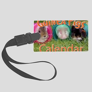 Guinea Pigs #2 Wall Calendar Large Luggage Tag