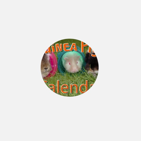 Guinea Pigs #2 Wall Calendar Mini Button