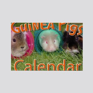 Guinea Pigs #2 Wall Calendar Rectangle Magnet