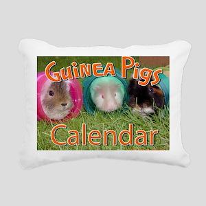 Guinea Pigs #2 Wall Cale Rectangular Canvas Pillow