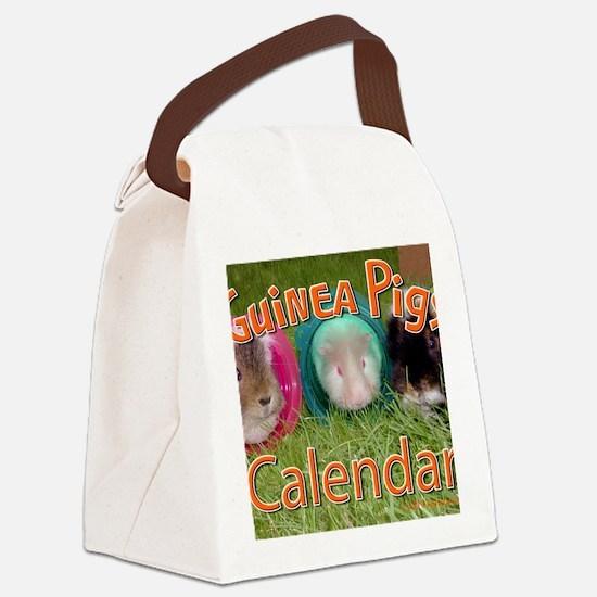 Guinea Pigs #2 Wall Calendar Canvas Lunch Bag