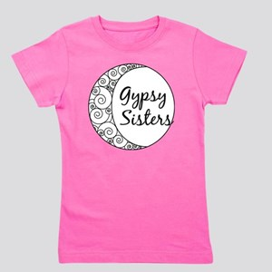 Gypsy Sisters White Logo Girl's Tee