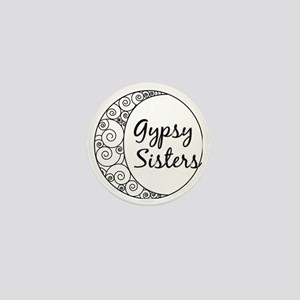 Gypsy Sisters White Logo Mini Button