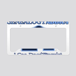 Genealogy Addict License Plate Holder
