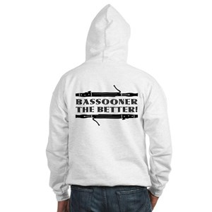 Bassooner the Better (h) Hooded Sweatshirt