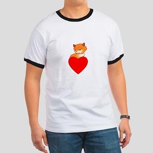 Foxes Ringer T