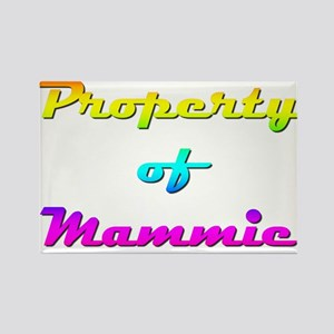 Property Of Mammie Female Rectangle Magnet