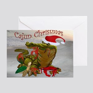 Cajun christmas greeting cards cafepress cajun christmas greeting card m4hsunfo