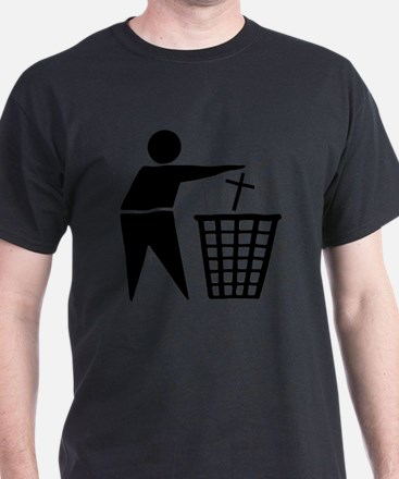 Trash Religion Atheism T-Shirt