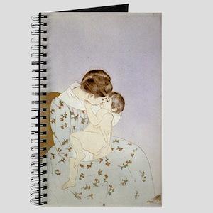 Mother's kiss - Mary Cassatt - 1891 Journal