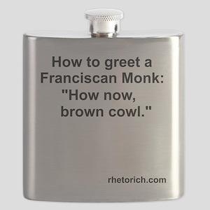 Franciscan Monk Flask