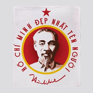 Ho Chi Minh Throw Blanket