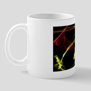 Red and yellow flames Mug