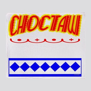 CHOCTAW INDIAN Throw Blanket