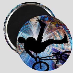 BMX in a Grunge Tunnel Magnet