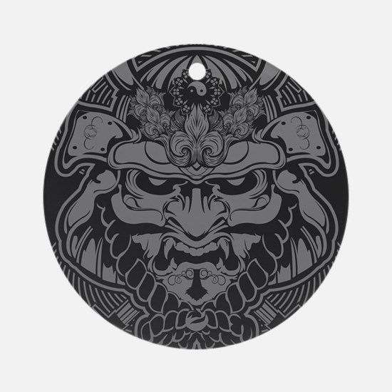 Samurai Rising Round Ornament