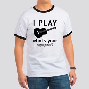 I play Guitar Ringer T