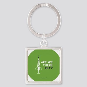 Hypo-Derrick - Are We There Yet? Square Keychain