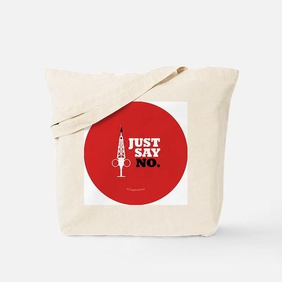 Hypo-Derrick - Just Say No Tote Bag