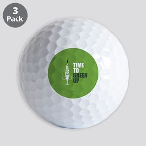 Hypo-Derrick - Time to Green Up Golf Balls