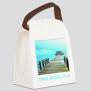 Cool Rod & Reel Pier Canvas Lunch Bag
