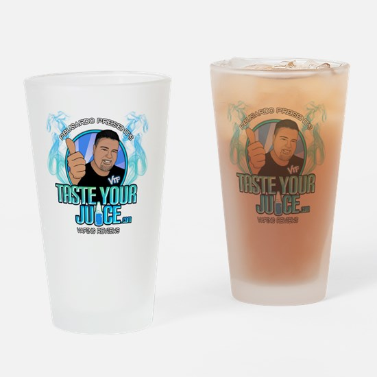 TYJ - Fun Logo Drinking Glass