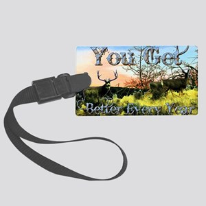 Better every year Large Luggage Tag