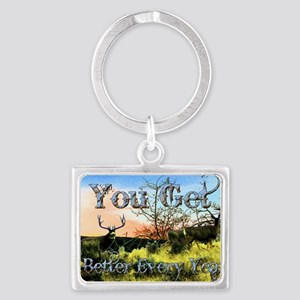 Better every year Landscape Keychain