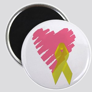 Yellow ribbon/My heart is in Magnet
