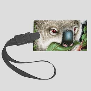 Koala Munching Shoulder Bag Large Luggage Tag