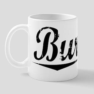Burnett, Vintage Mug