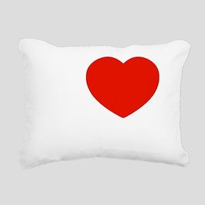 I love Djembes Rectangular Canvas Pillow