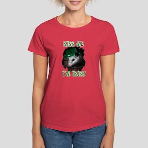 Kiss Me Possum Women's Dark T-Shirt