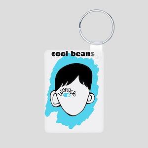 "WONDER ""Cool Beans"" Aluminum Photo Keychain"