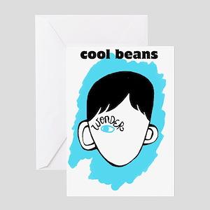 "WONDER ""Cool Beans"" Greeting Card"