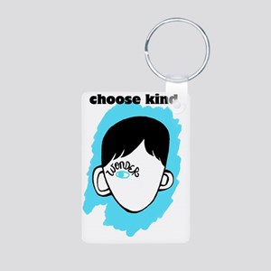 "WONDER ""choose kind"" Aluminum Photo Keychain"