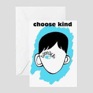 """WONDER """"choose kind"""" Greeting Card"""