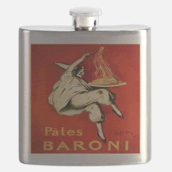 Italian Liquor Pates Baroni Flask