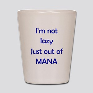 Out of Mana Shot Glass