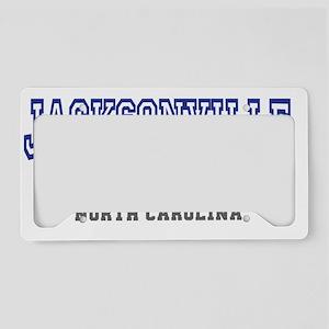 Jacksonville, North Carolina, License Plate Holder