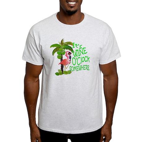 Its Wine OClock Somewhere Light T-Shirt